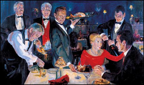 El Gaucho Anniversary Painting