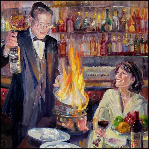 El Gaucho Bob and Gail Painting
