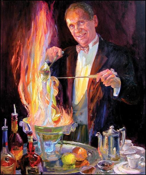 El Gaucho Coffee Diablo Painting