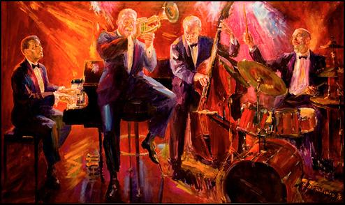 El Gaucho Jazz Painting
