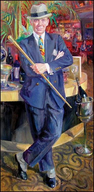 El Gaucho John Sheard Painting