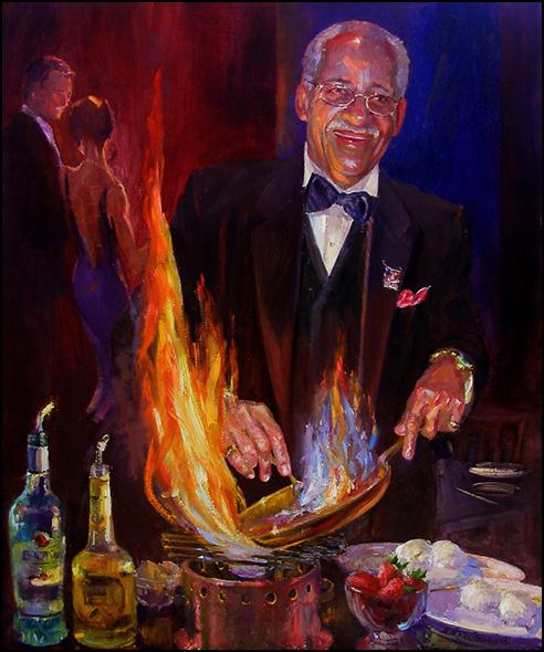 El Gaucho Sherwood Painting