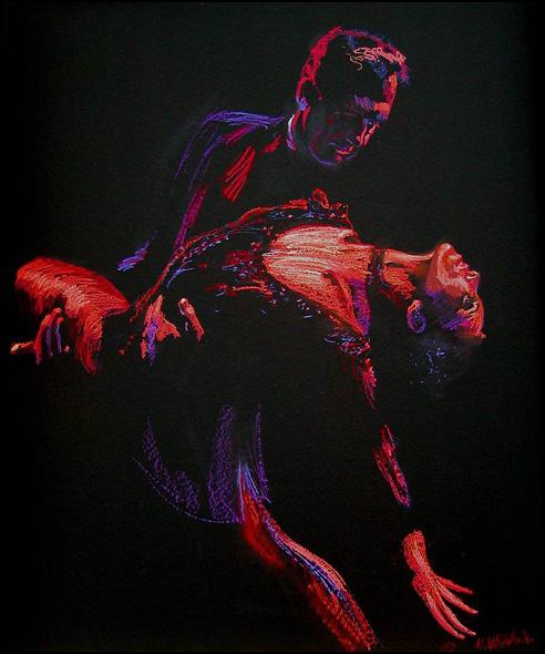 El Gaucho Tango Painting